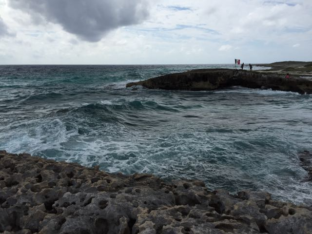The coast off of Cozumel, Mexico. Photo by J. Jeff Kober.