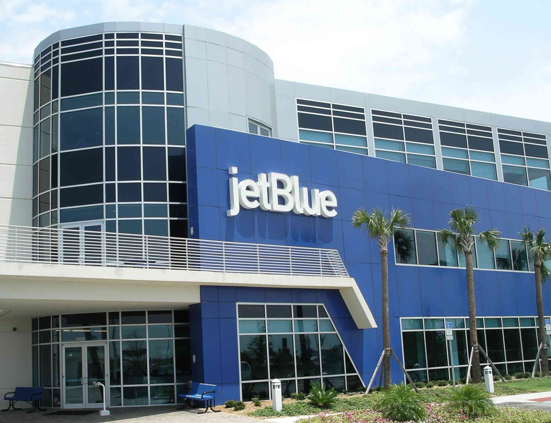 JetBlue's training facilities in Orlando, Florida. Photo by J. Jeff Kober.