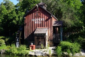 Harpers Mill along the Rivers of America at Magic Kingdom. Photo by J. Jeff Kober.