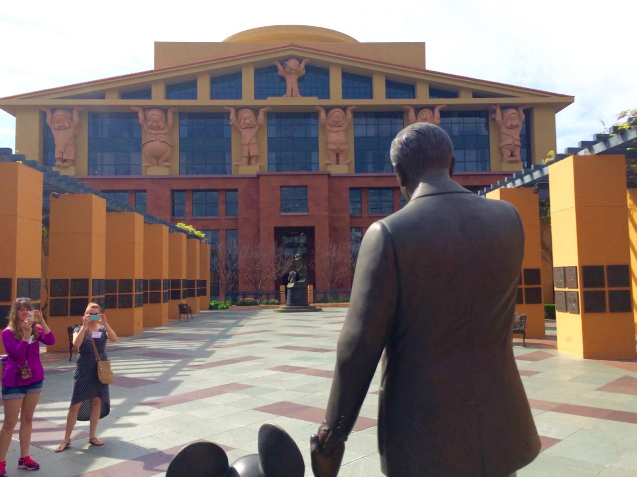 Disney Legends Plaza. Photo by J. Jeff Kober.