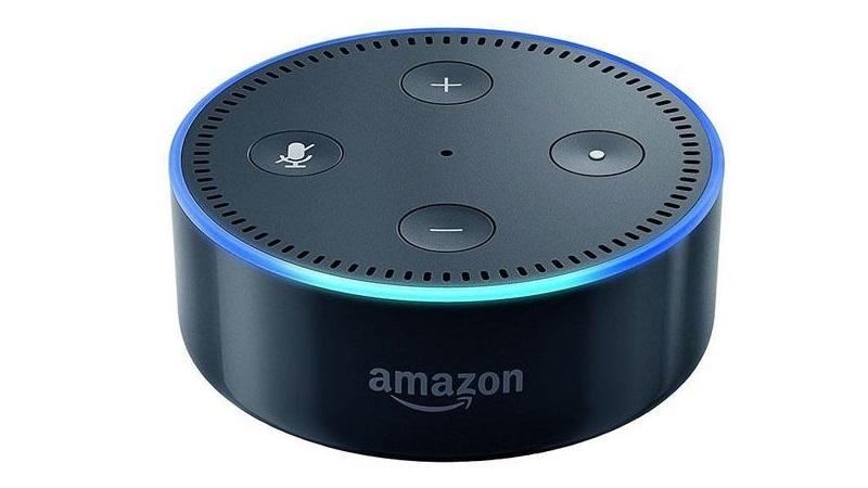 Amazon Alexa Dot.